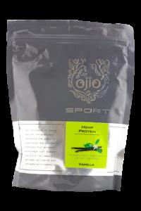 Ojio Sport Hemp Protein Vanilla