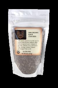 Ojio Raw Organic Black Chia Seeds photo